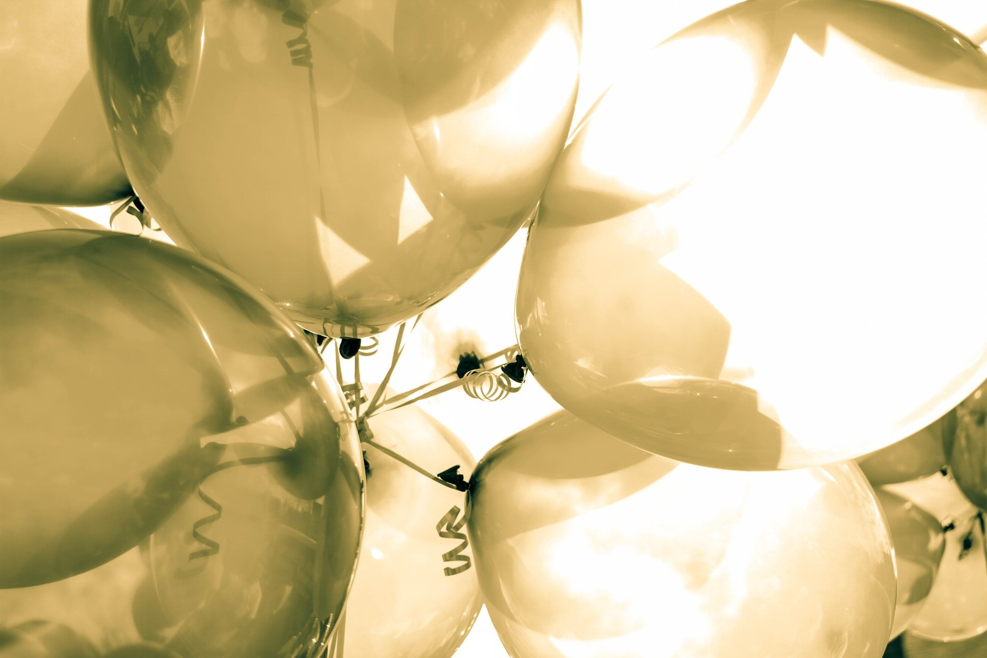 Ballons pour anniversaire, baptême et baby shower